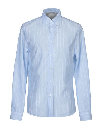 e35a6d4690ca Brunello Cucinelli Striped Shirt - Men Brunello Cucinelli Striped ...