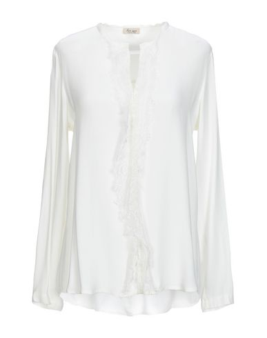HER SHIRT Blouse in White