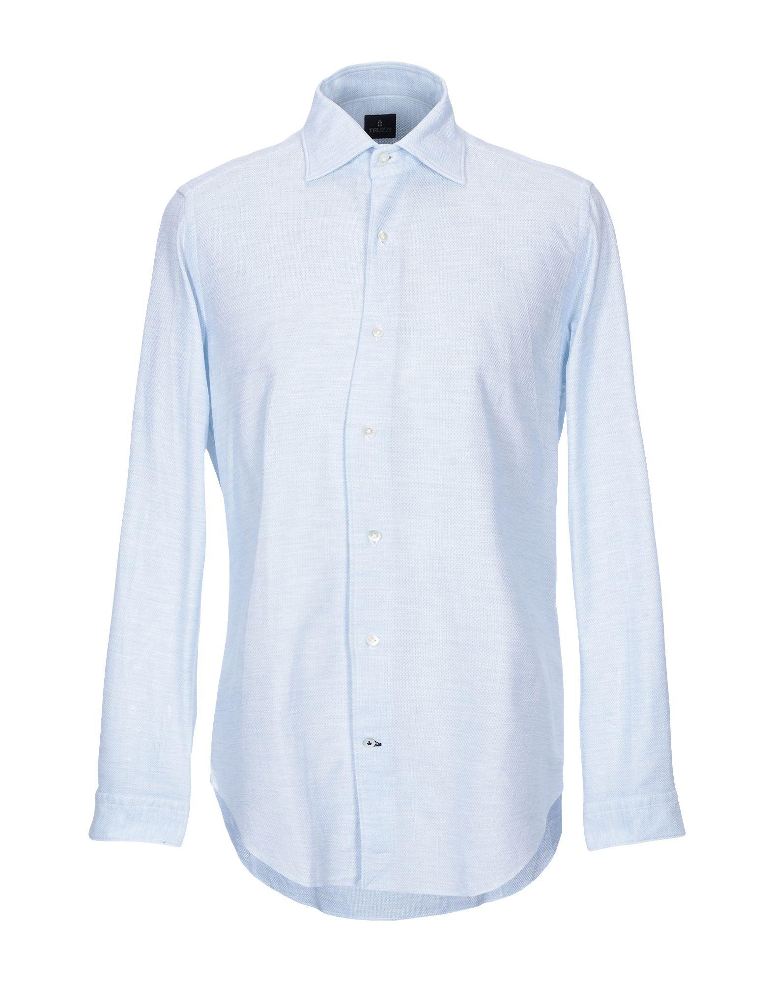 Camicia Tinta Unita Truzzi herren - 38804054TQ