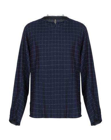 DNL Checked Shirt in Dark Blue