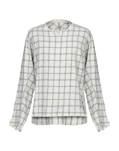 DNL Checked Shirt in Ivory