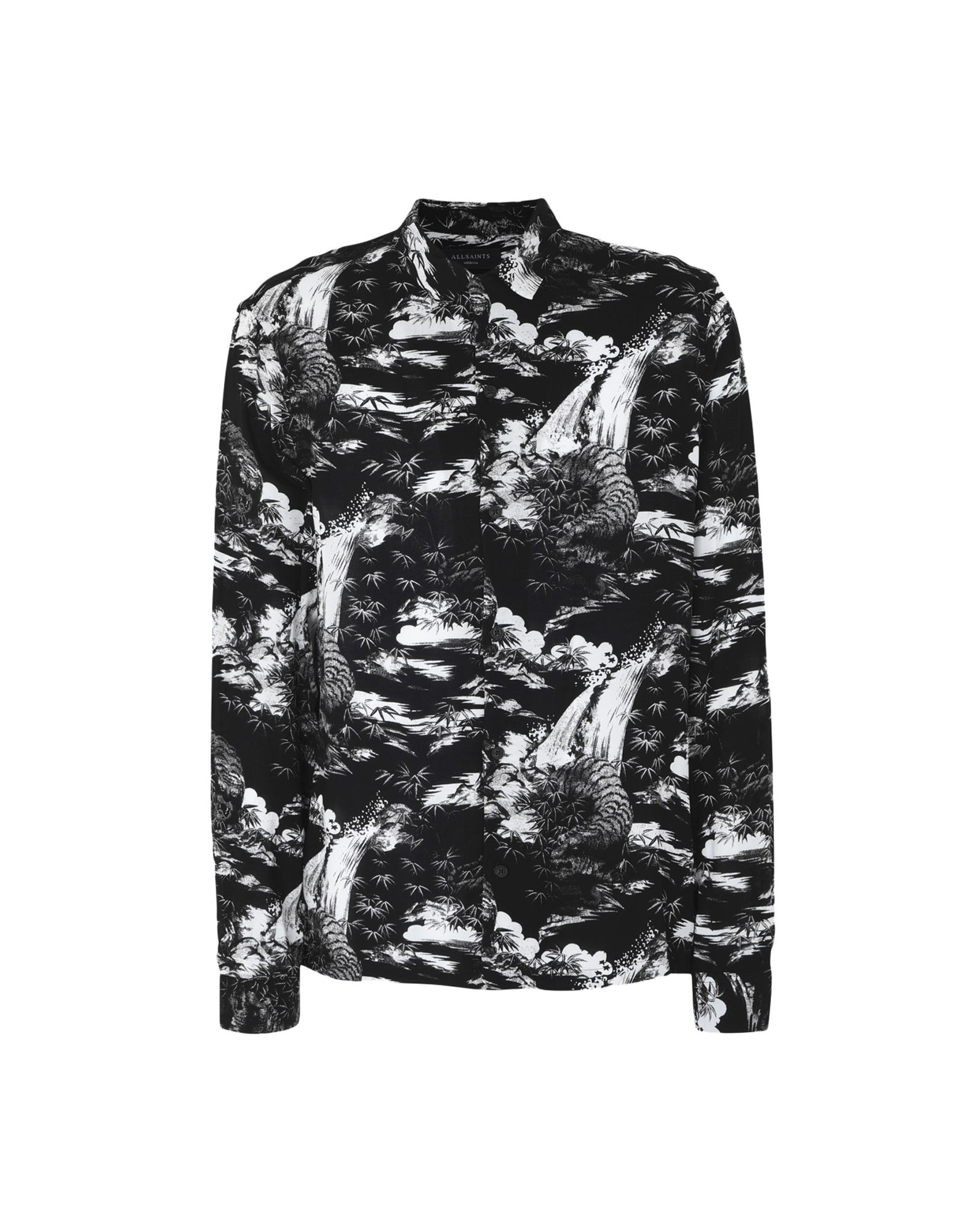 e61ed83eb3c4b Allsaints Sunda Ls Shirt - Patterned Shirt - Men Allsaints Patterned Shirts  online on YOOX United States - 38805261QP