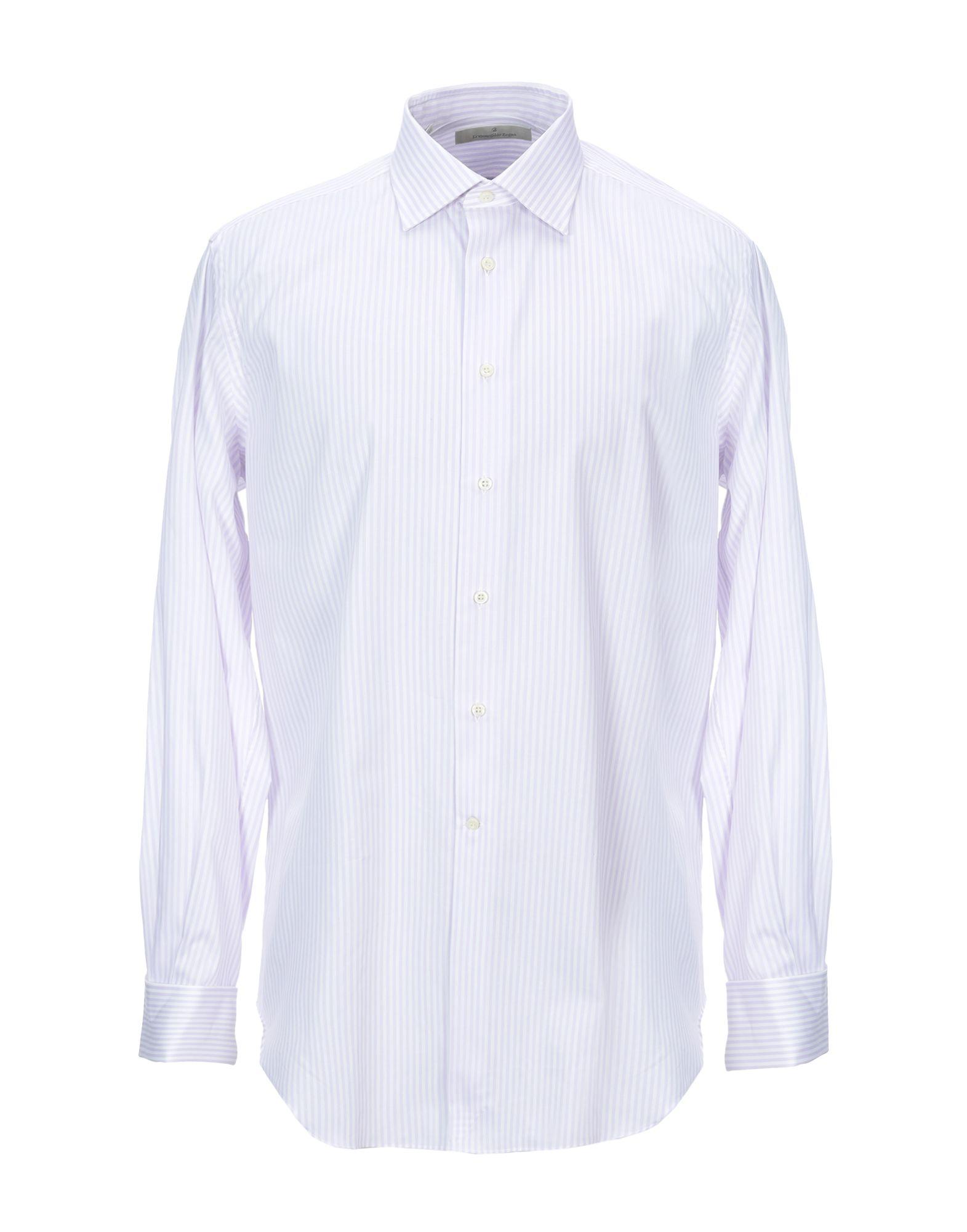 Ermenegildo Zegna Striped Shirt Men Ermenegildo Zegna Striped