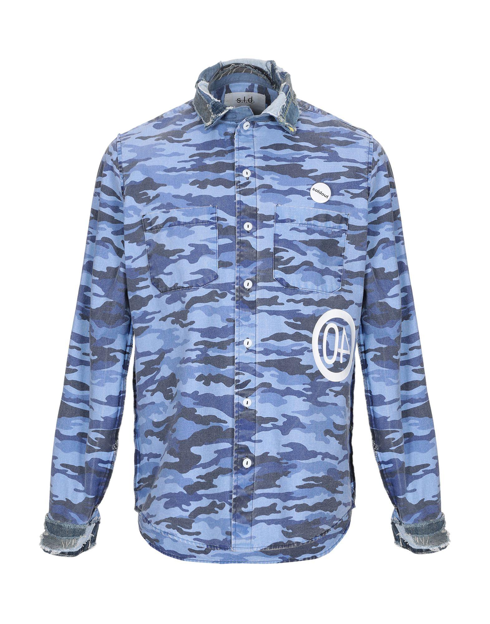 Camicia Fantasia Sold Out herren - 38807256OK