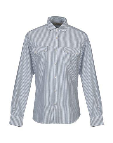 BORSA Striped Shirt in Azure
