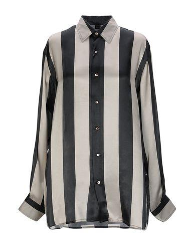 MPD BOX Silk Shirts & Blouses in Light Grey