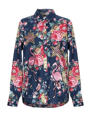 5 PROGRESS Floral Shirts & Blouses in Blue