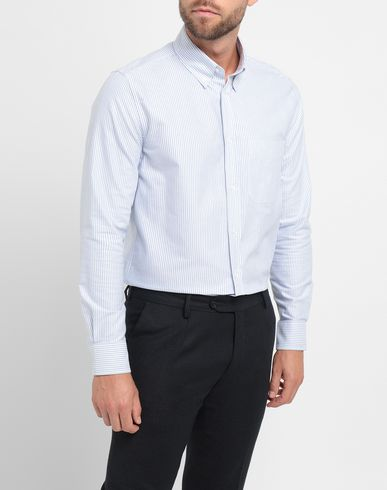 durable modeling 8 By Yoox Striped Shirt - Men 8 By Yoox Striped Shirts online Men Clothing 641m3Y8e