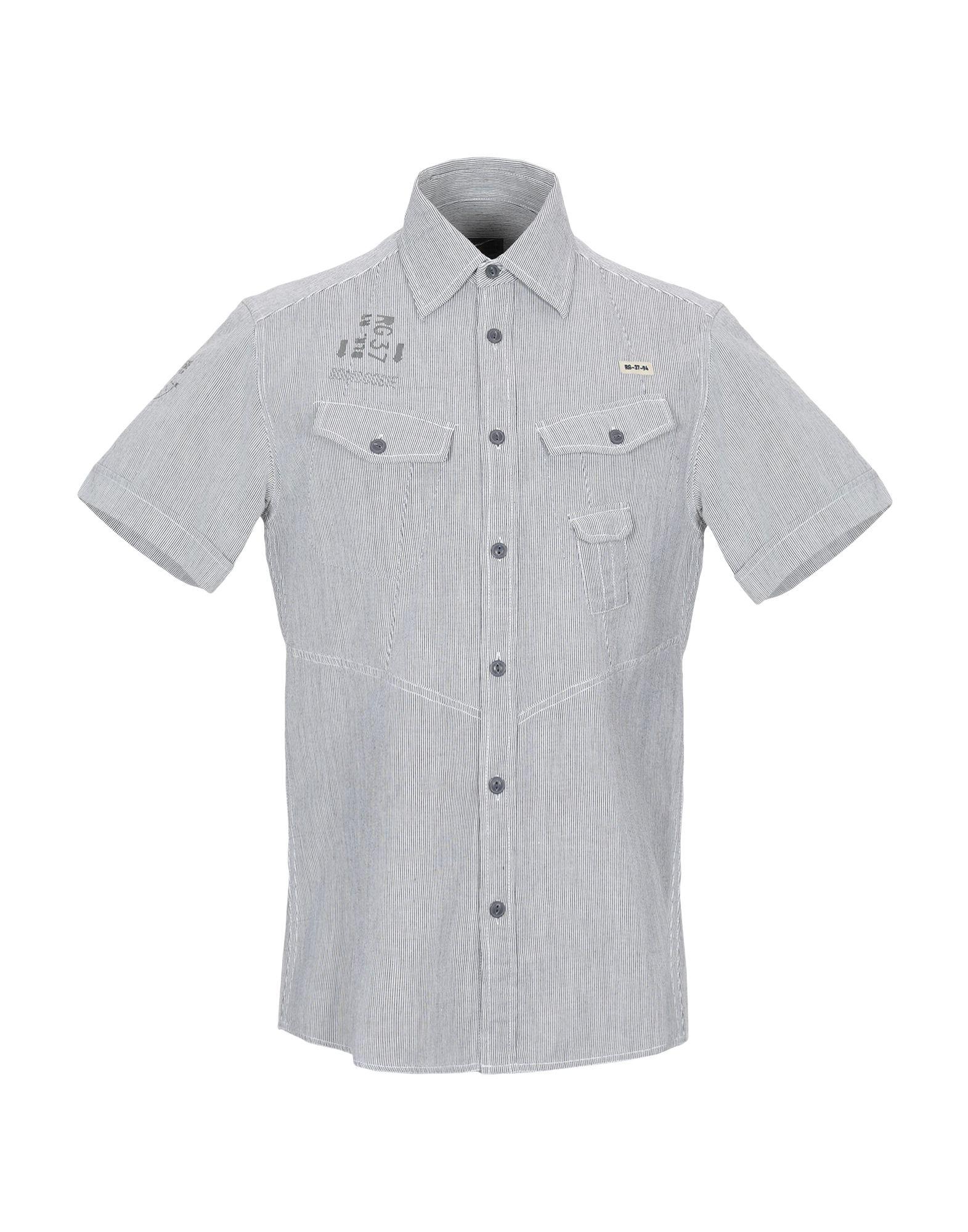 Camicia A A A Righe Bomboogie uomo - 38811042TM a01