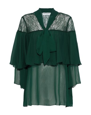 PERSEVERANCE Blouse in Dark Green