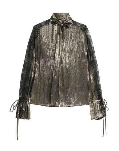 PERSEVERANCE Lace Shirts & Blouses in Gold