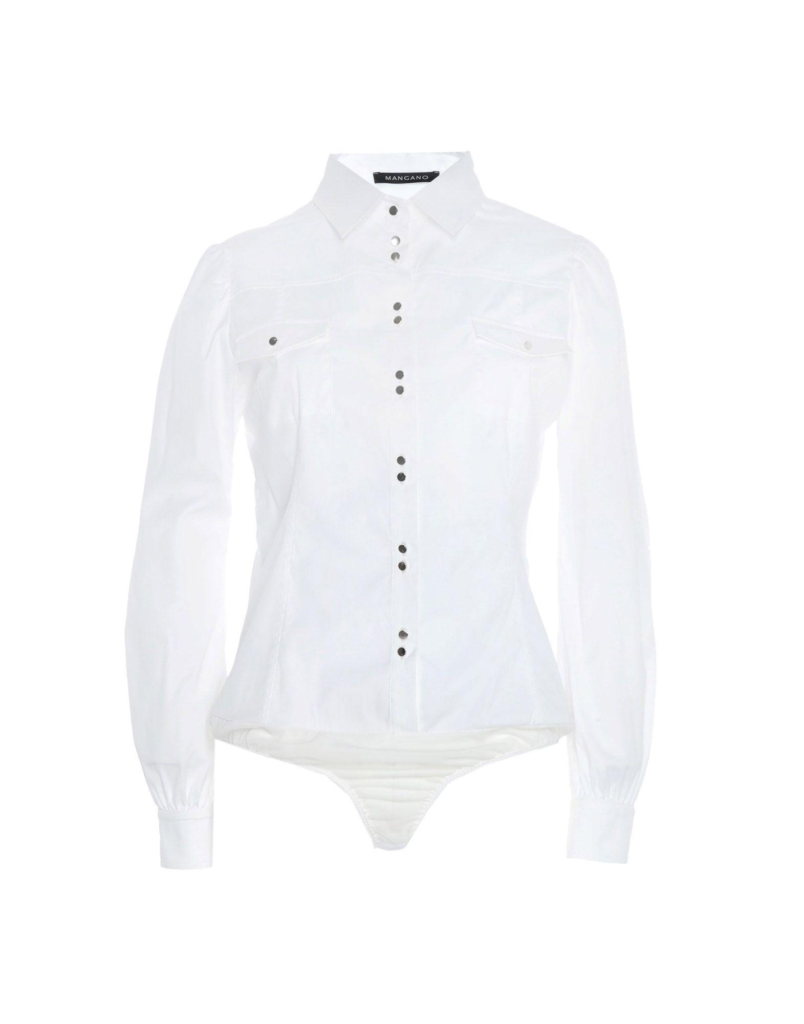 Camicie E bluse Tinta Tinta Unita Mangano donna - 38812690FU