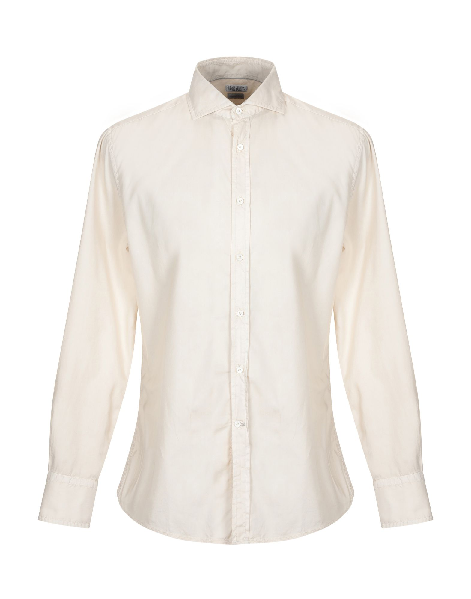 123fd45b9541 Brunello Cucinelli Solid Color Shirt - Men Brunello Cucinelli Solid ...