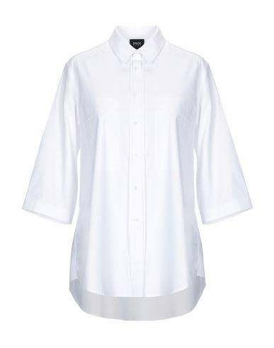 aa1a880849b Chemises Et Chemisiers De Couleur Unie Armani Jeans Femme - Chemises ...