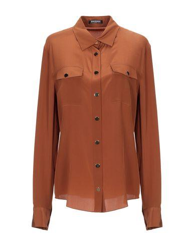 BALMAIN - Camisas y blusas de seda