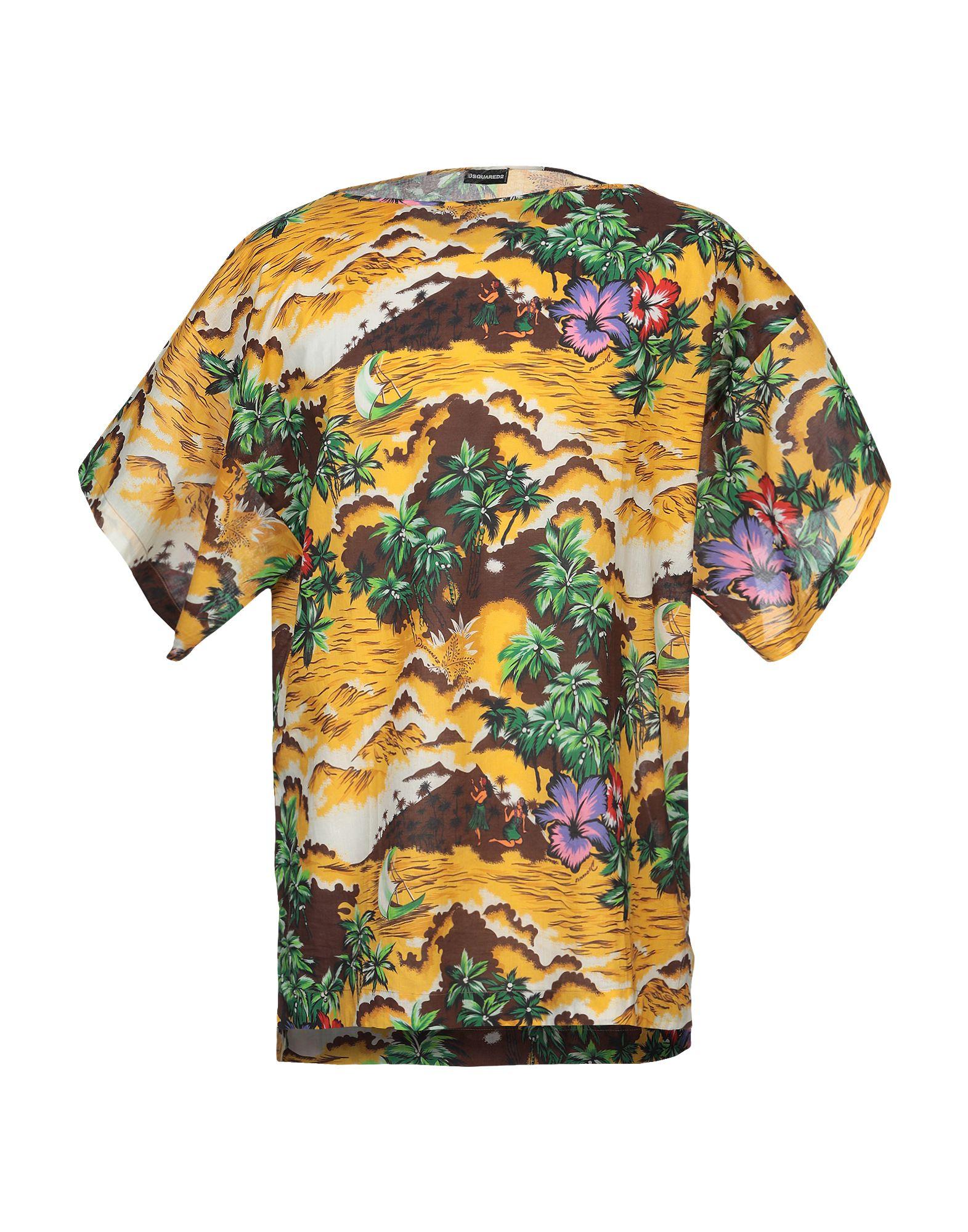 Camicia Fantasia Dsquarot2 herren - 38814713HI