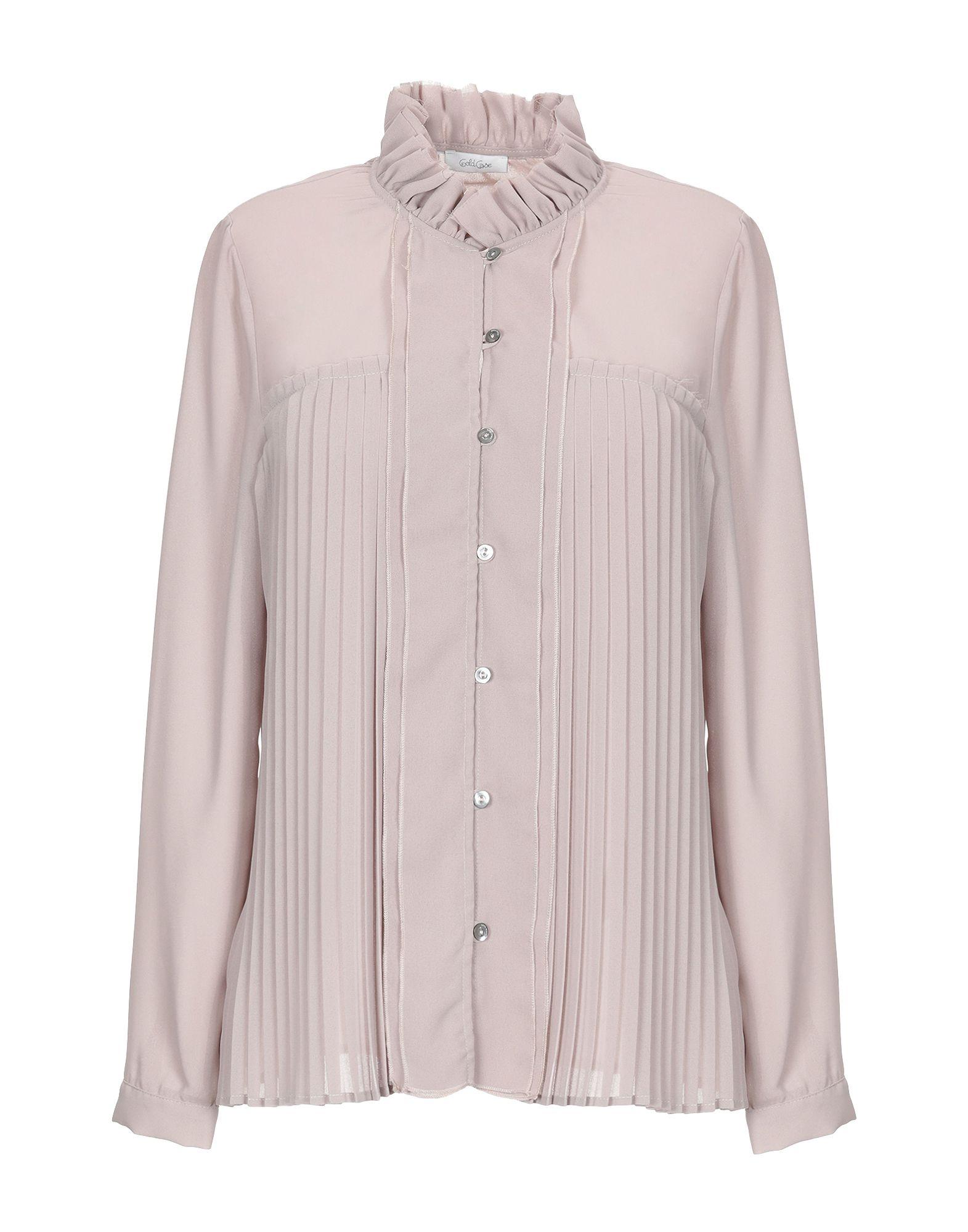 Camicie E bluse Tinta Unita oro Case donna - 38814820UV