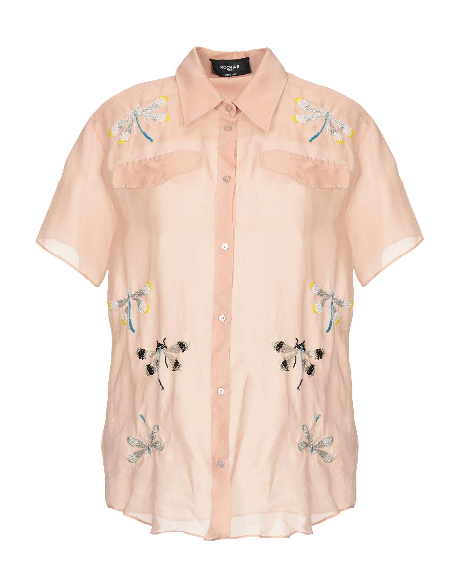 Camicie E Blause In Seta Rochas damen - 38816390XN