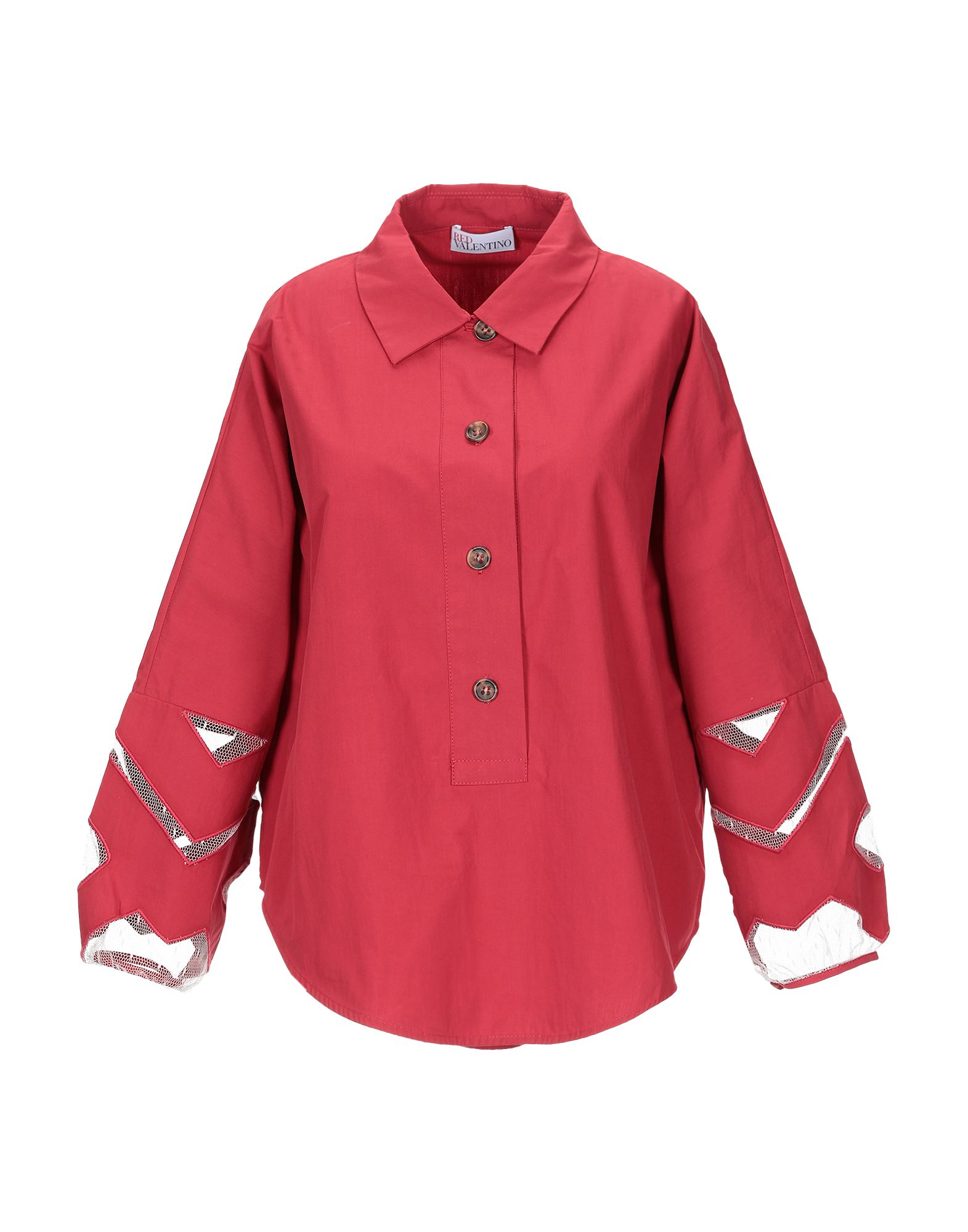 Camicie E bluse Tinta Unita rossovalentino donna - 38818256DT