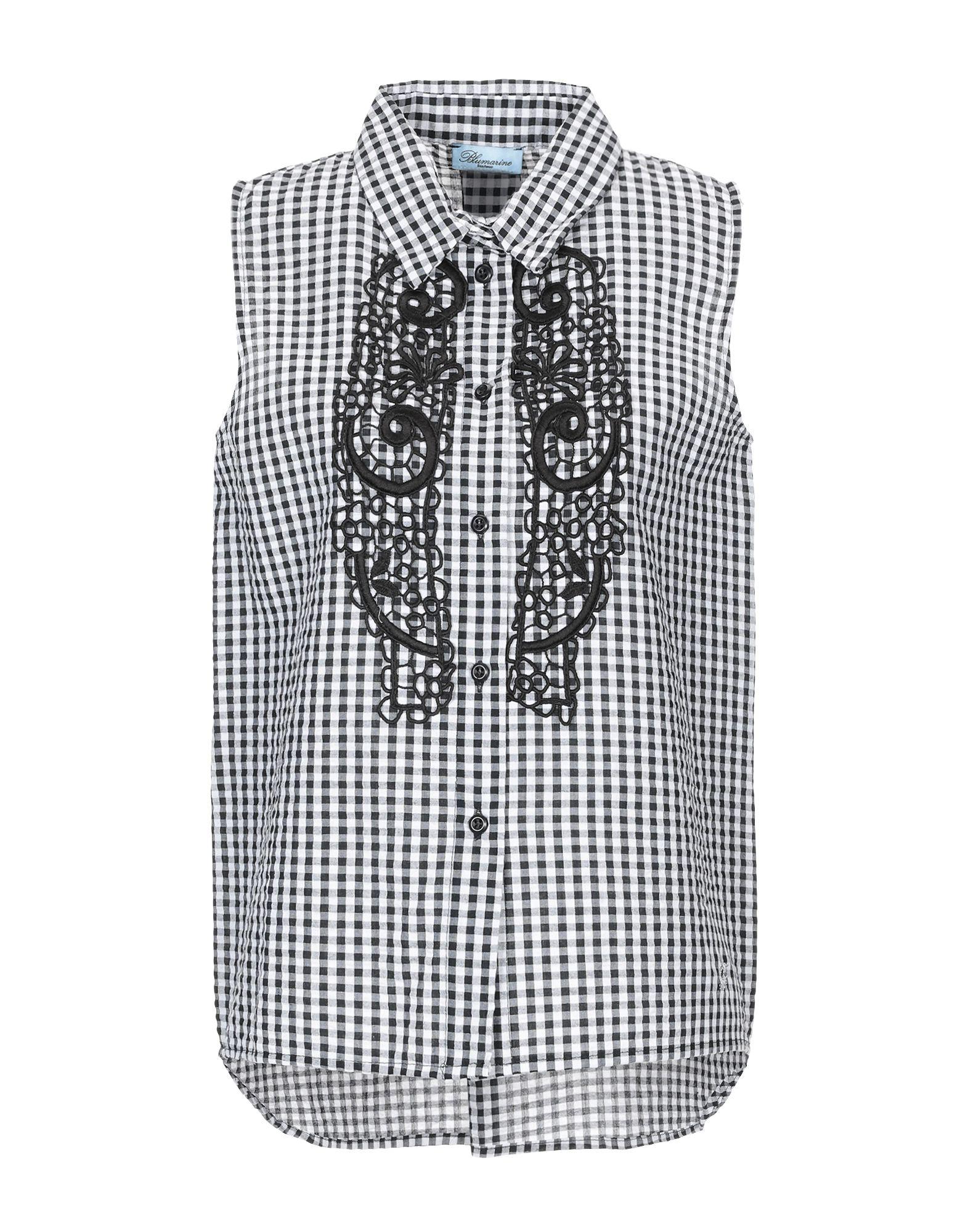 Camicia A Quadri Blaumarine Beachwear damen - 38819044TK