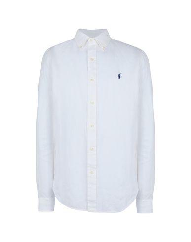 9e799cd342e5 Polo Ralph Lauren Slim Fit Linen Shirt - Linen Shirt - Men Polo ...