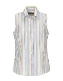 M/&S Collezione Foglia Di Puro Cotone Stampa Camicia