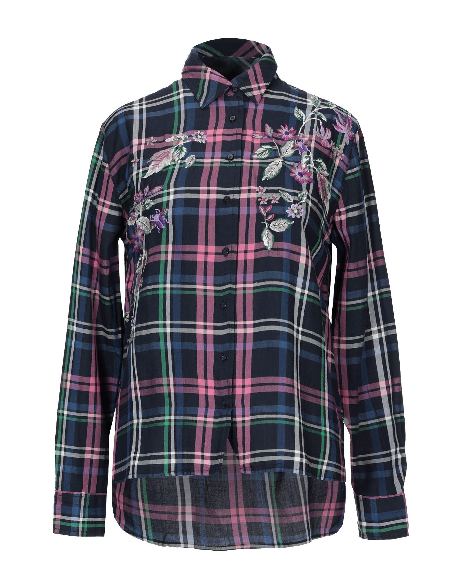 Camicia A Quadri Pepe Jeans donna - 38819608OF 38819608OF 38819608OF 5d9