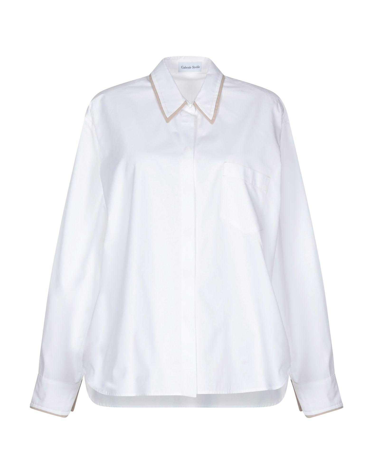 Camicie E bluse Tinta Tinta Tinta Unita Gabriele Strehle donna - 38822123AL 4af