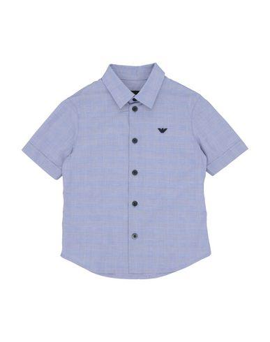 uk availability afeab c7e50 EMPORIO ARMANI Camicia fantasia - Camicie | YOOX.COM