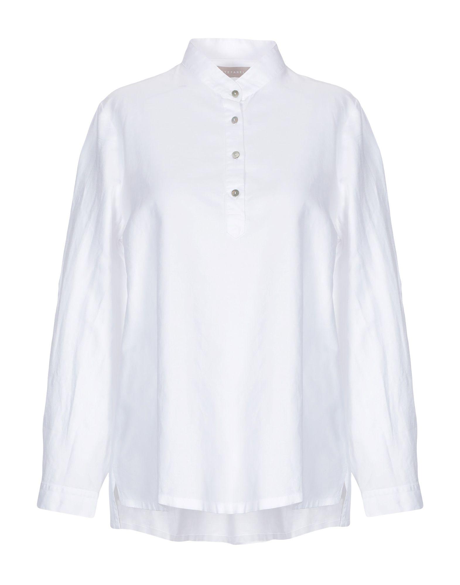 Cotone Cotone Camicia Camicia Donna Stefanel Camicia Donna Coreana Stefanel Coreana DYIW9EH2