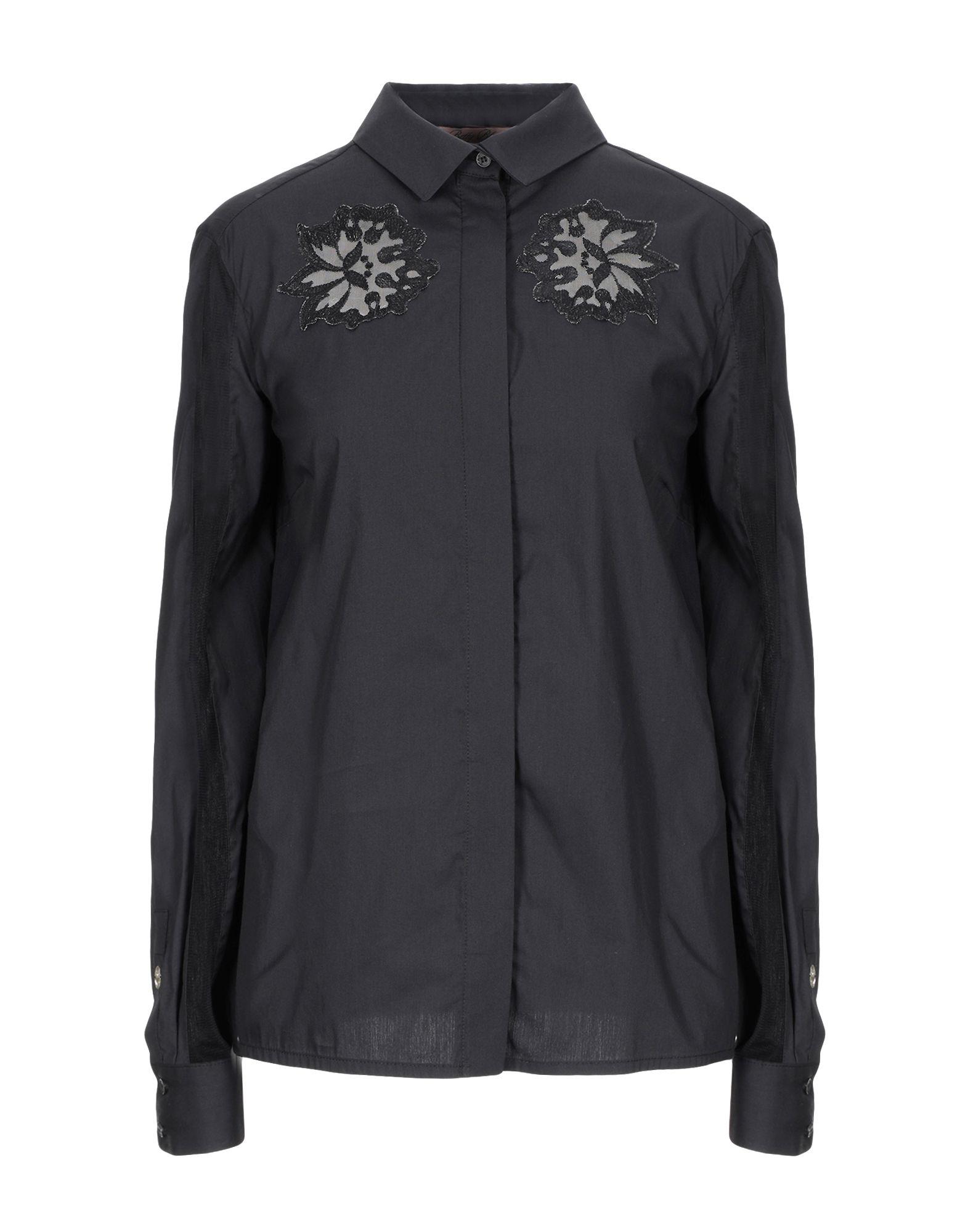 Camicie E Blause Tinta Unita Betty Blau damen - 38824157CL
