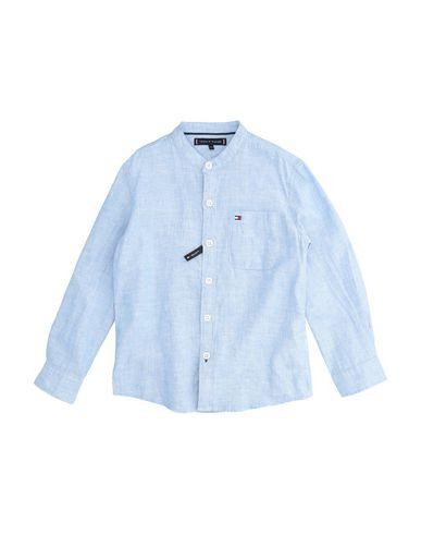 5a91ce39c9 Camicia Tinta Unita Tommy Hilfiger Bambino 3-8 anni - Acquista ...