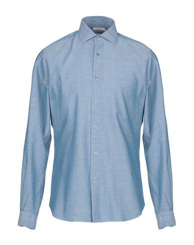 BOGLIOLI - Solid color shirt