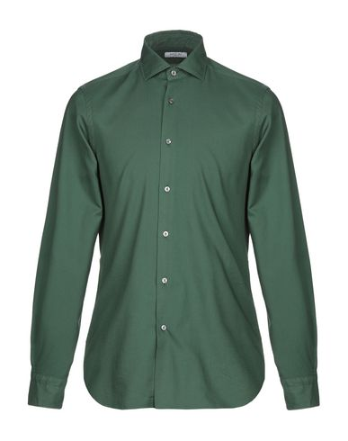 BOGLIOLI - 솔리드 컬러 셔츠