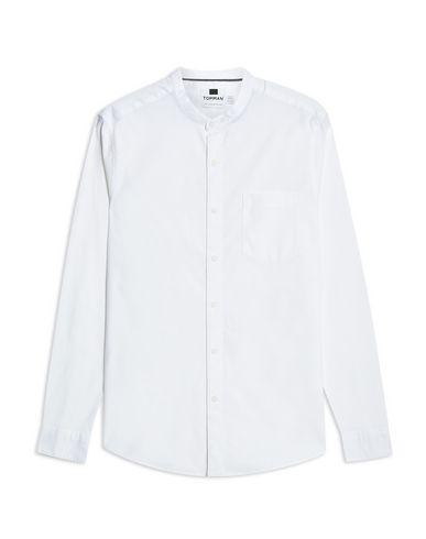 TOPMAN - 솔리드 컬러 셔츠