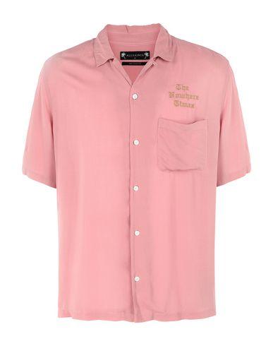 ALLSAINTS - Solid color shirt