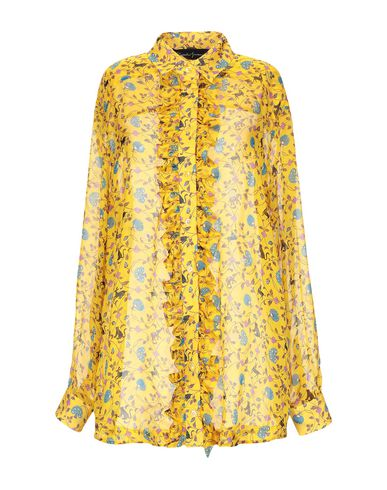Rossella Jardini Floral Shirts & Blouses In Yellow