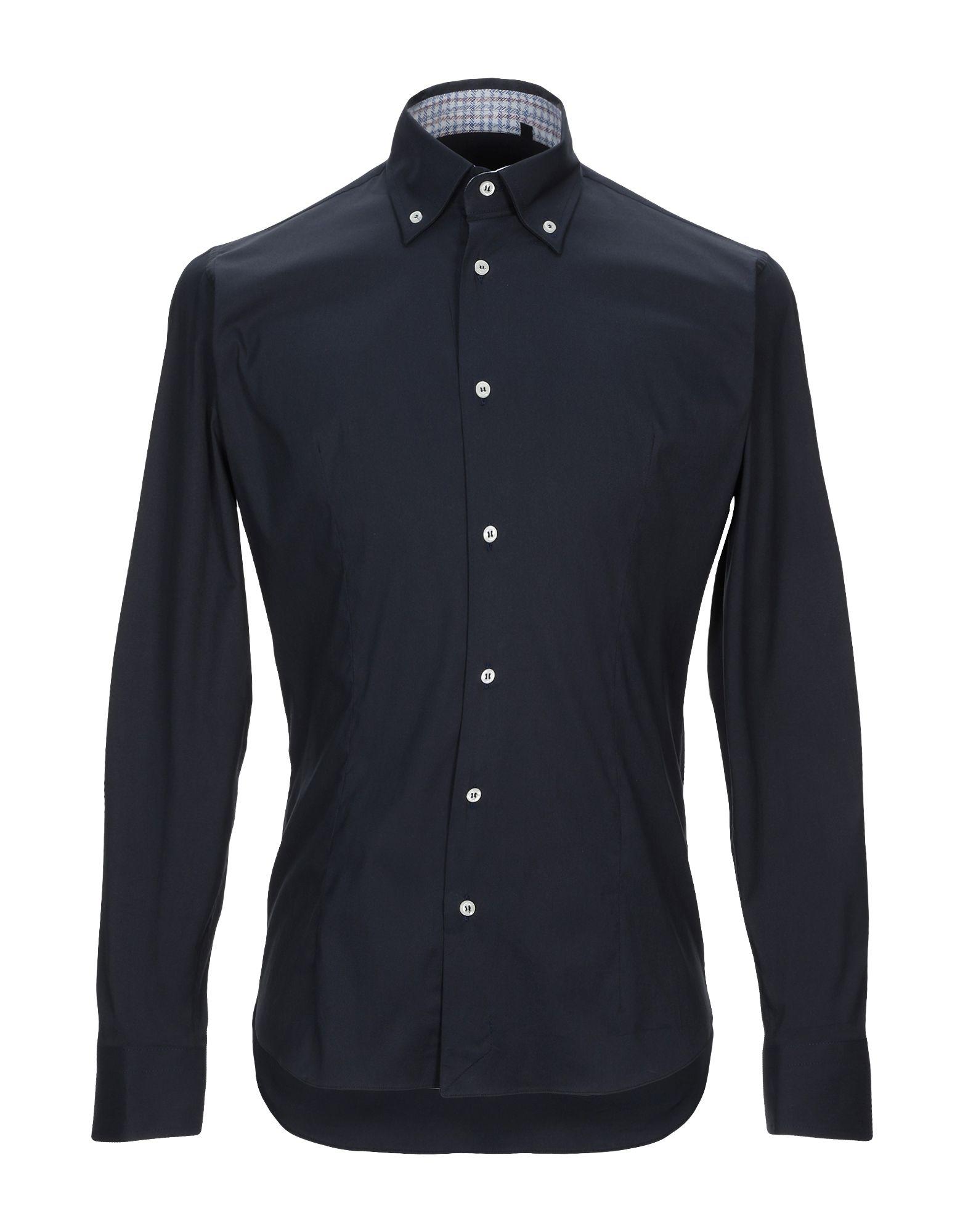 Camicia Tinta Unita Phil grau herren - 38829425BA