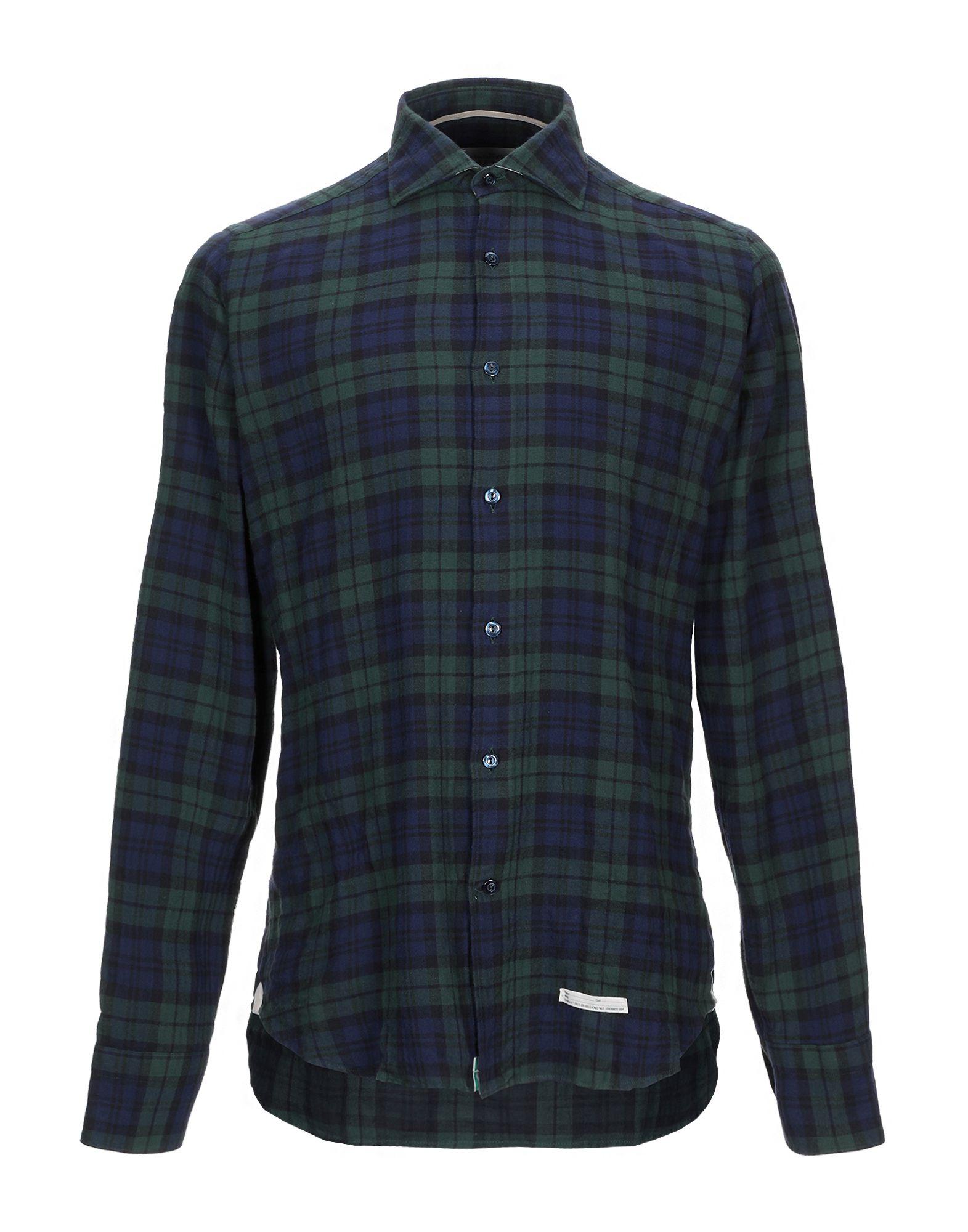 Camicia Camicia A Quadri Tintoria Mattei 954 uomo - 38829885AF