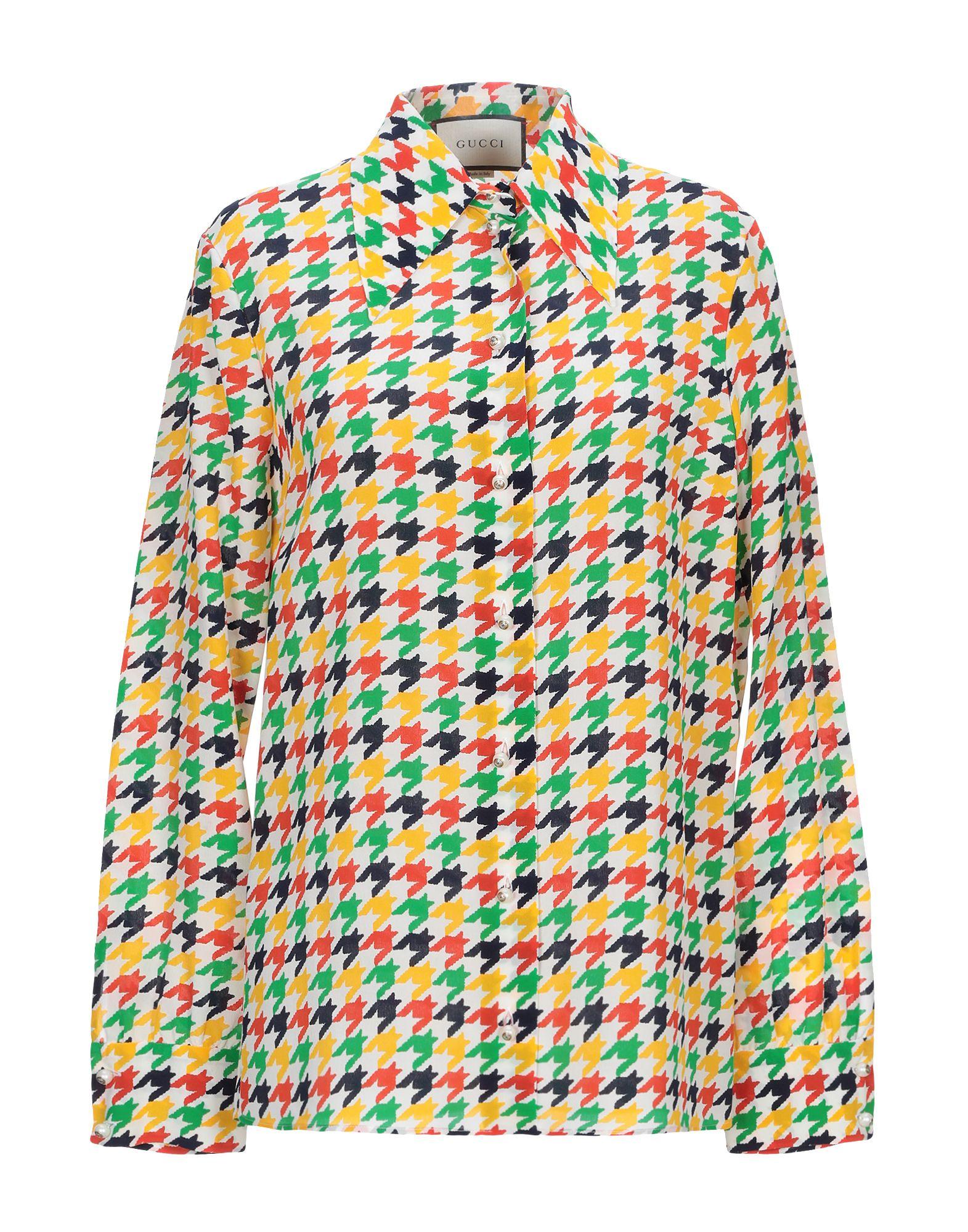 4c22d8ea Gucci Patterned Shirts & Blouses - Women Gucci Patterned Shirts & Blouses  online on YOOX United States - 38831117AL