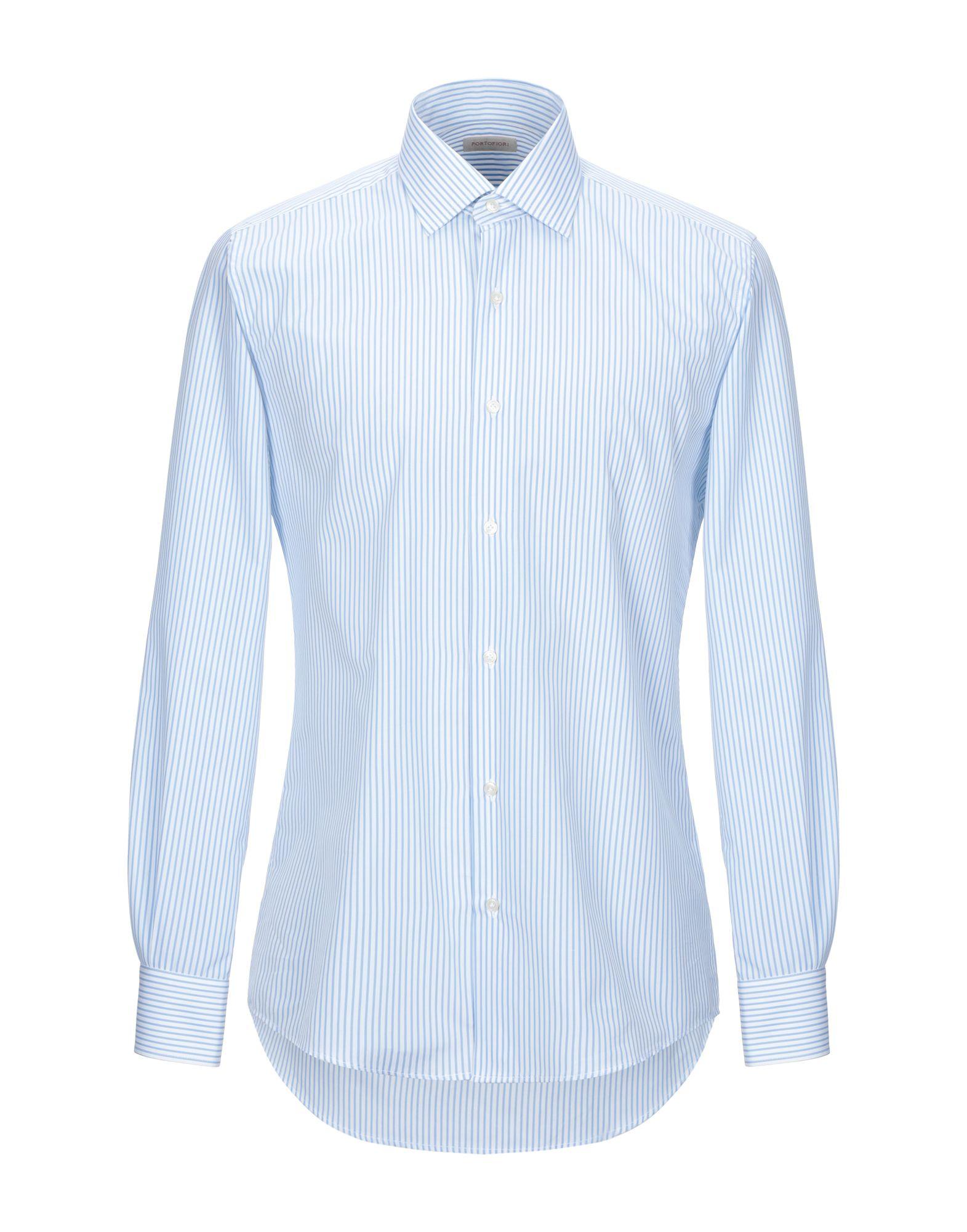 Camicia Camicia Camicia A Righe Portofiori uomo - 38832053FT 325