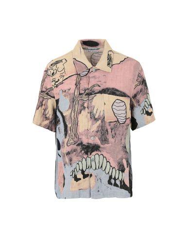 c4ce5269 Our Legacy Box Shirt Short Sleeve Acid Landscape Print Linen - Linen ...