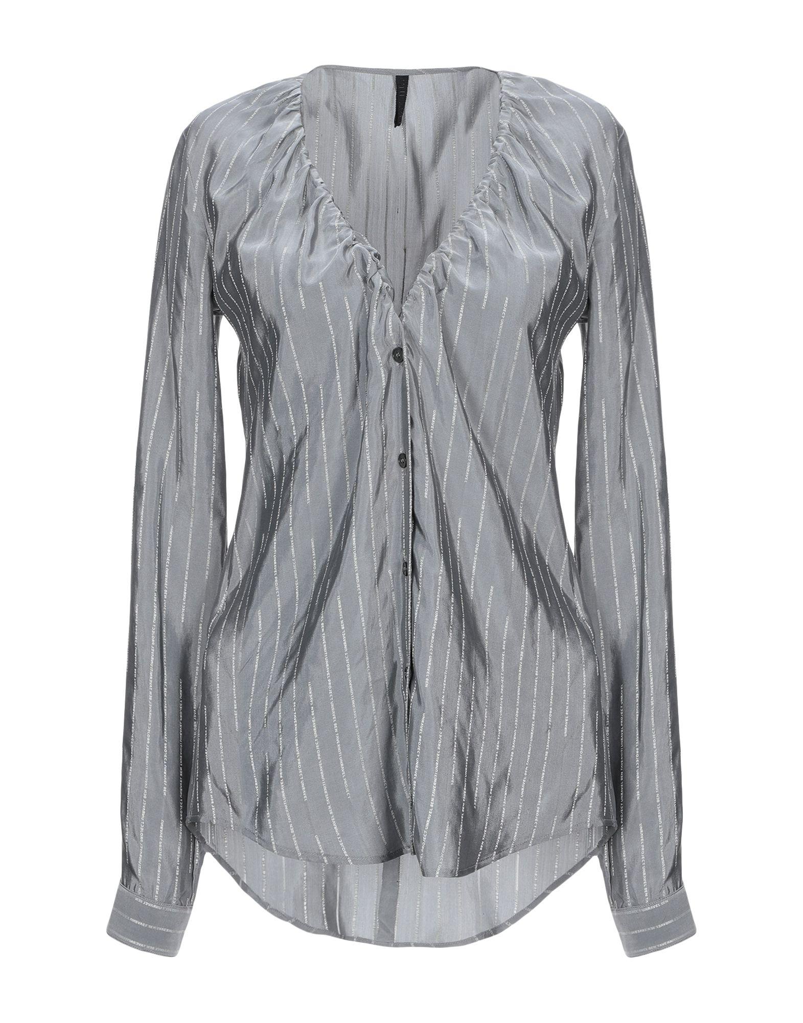 Camicie E bluse In Seta Ben Taverniti™ Unravel Project donna donna donna - 38837472BG a2b