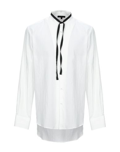 ANN DEMEULEMEESTER - Solid colour shirt