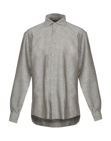 LES COPAINS - Solid colour shirt