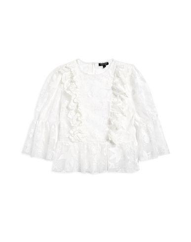 770bf4a934cf Topshop Ruffle Embroidered Blouson - Blouse - Women Topshop Blouses ...