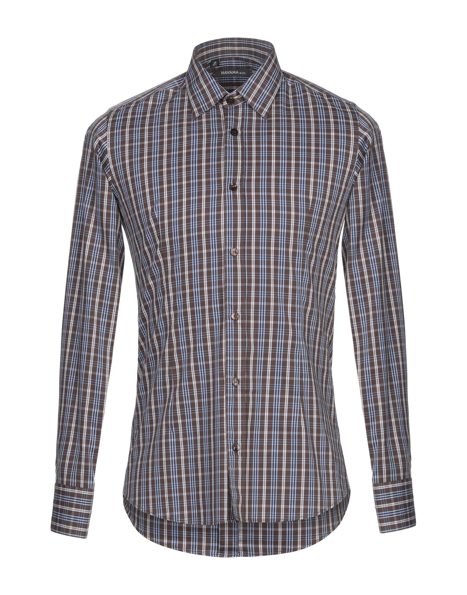 Camicia A Quadri Havana & Co. herren - 38842034TM