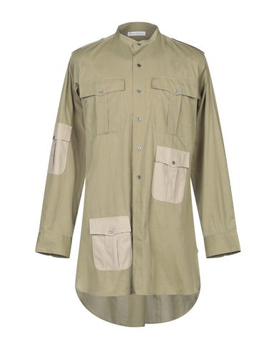 J.W.ANDERSON - Solid colour shirt