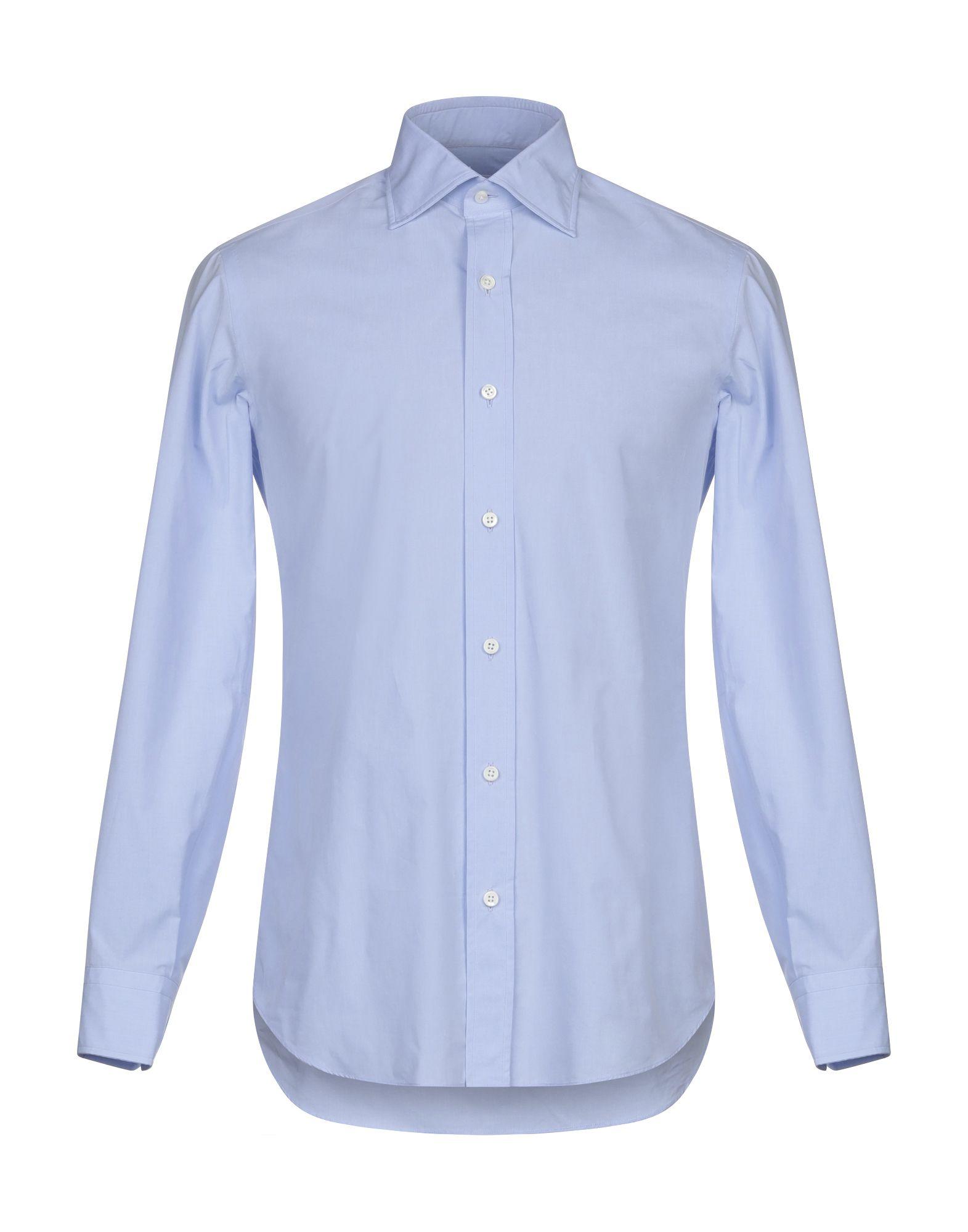 Camicia Tinta Unita Salvatore Piccolo herren - 38847378WQ