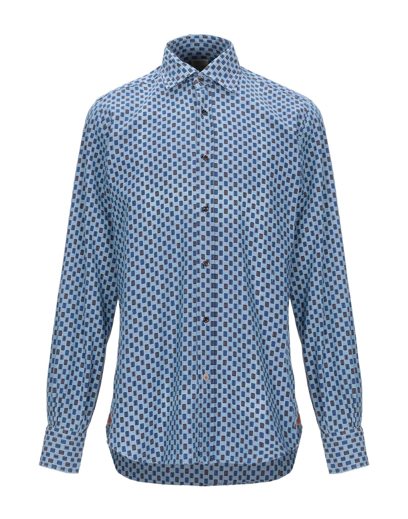 Camicia Fantasia Mazzarelli Mazzarelli uomo - 38851308PO  günstigster Preis